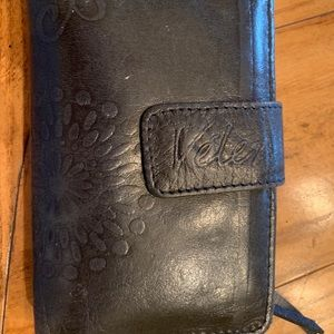 Real Leather wallet Fioche Italy